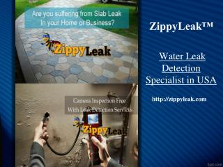 Water Leak Detection Anaheim CA | 657-201-8044 | ZippyLeak