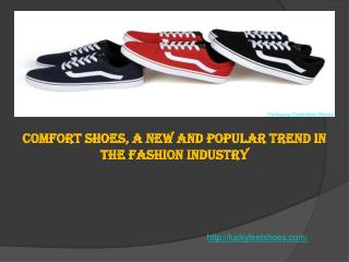 Comfort Shoes, a New and Popular Trend in the Fashion Indust