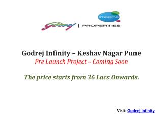 Godrej Infinity Project Pune 3 BHK