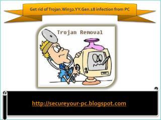How To Remove Trojan.Win32.YY.Gen.18