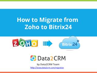 Zoho to Bitrix24 Migration: Practical Guidelines