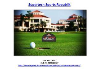 Supertech Sports Republik Apartment/Villas