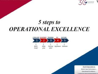 5 Steps to Operational Excellence