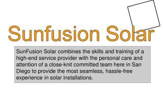 Solar installation companies San Diego