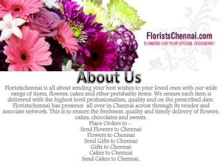 Flowers delivery to chennai
