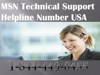 1 844 449 0455 msn customer care toll free number