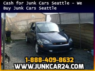 Cash for Junk Cars Seattle - We Buy Junk Cars Seattle