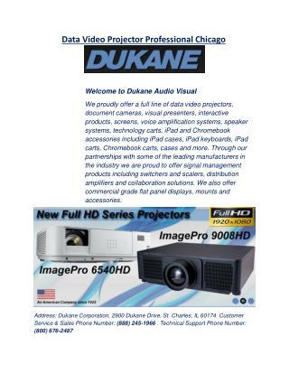 Data Video Projector Professional Chicago - Dukaneav.com