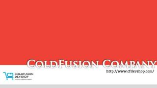 Best Coldfusion Company
