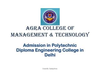 Admission in Polytechnic Diploma Engineering College in Delh