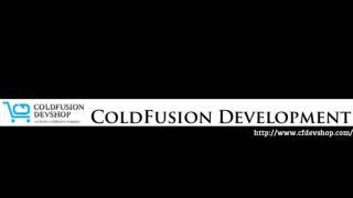 ColdFusion Development | ColdFusion Outsourcing