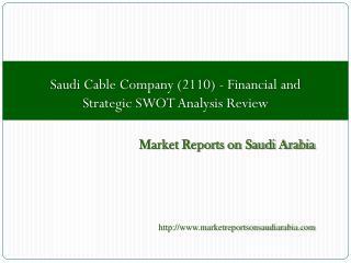 Saudi Cable Company (2110)