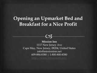 Luxury Bed And Breakfast Cape May NJ