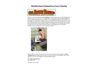 Dundalk Drain Cleaning Essex Sewer Cleaning