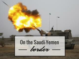 On the Saudi-Yemen border