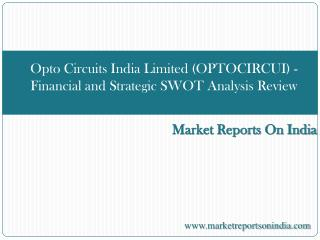 Opto Circuits India Limited (OPTOCIRCUI)
