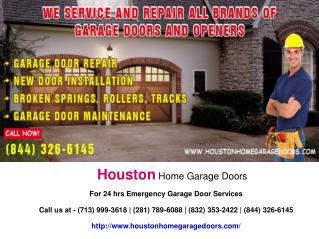 Houston Home Garage Doors Presentation
