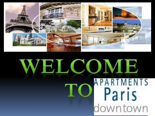 Short term apartments rental in Paris