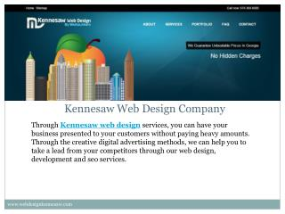 Kennesaw Web Design, web Development and SEO Company in GA