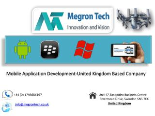 Megron Tech- iOS, Android App Development Company in Swindon