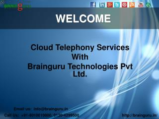Cloud Telephony services