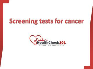 Liver Screening Test