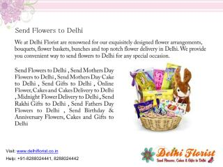Send Gifts to Delhi
