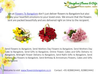 Online Flower Delivery Bangalore