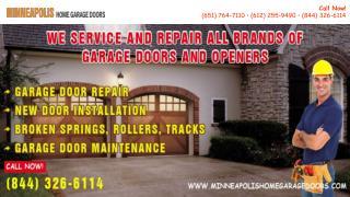 PPT on Minneapolis Home Garage Doors