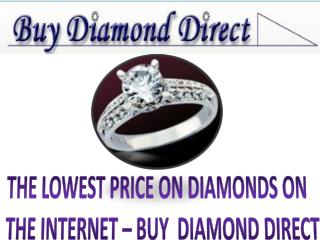 Buy the finest diamonds at the best prices on internet | Buy