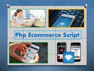 Best ecommerce script