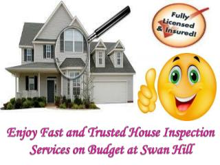 Enjoy Fast and Trusted House Inspection Services on Budget