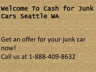 Sell My Junk Car Seattle