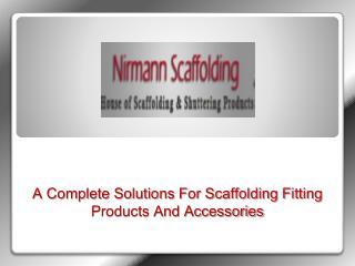 Scaffolding Cuplock System Manufacturers  Cuplock System Sup