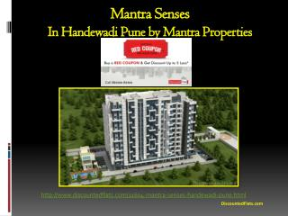 5 Lakh off on flats in Mantra Senses | Buy Red Coupon