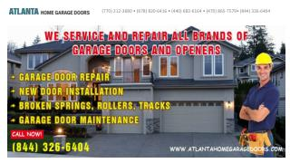Atlanta Home Garage Doors