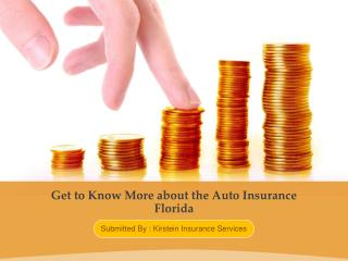 Get to Know More about the Auto Insurance Florida
