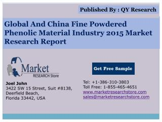 Global and China Fine Powdered Phenolic Material Industry 20