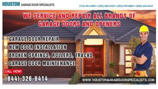 Houston Garage Door Specialists