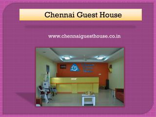 Budget Accommodation in Chennai