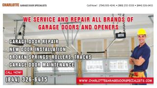 Charlotte Garage Door Specialists