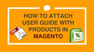 Magento Attach PDF to Product Extension