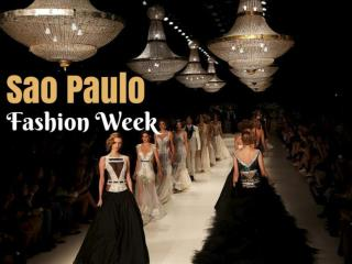 Sao Paulo Fashion Week