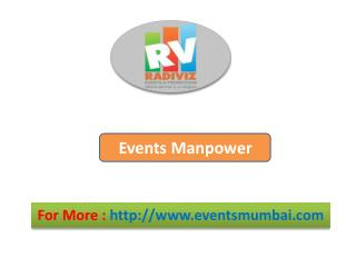 Events Manpower