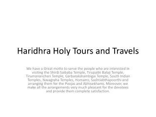 Navagraha temple tour package