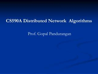 Distributed Dominating Set Algorithm