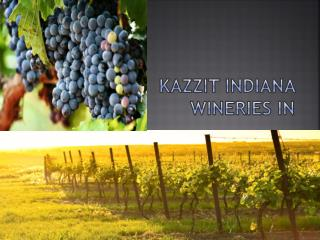 Kazzit Indiana Wineries IN