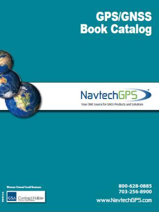 GPS/GNSS Book Catalog