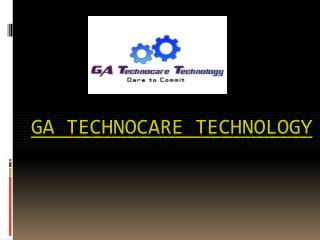 Leading Mobile App Development by GA Technocare Technology