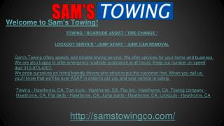 Towing Company, Flat Beds & Tire, Jump Starts, Lock outs, Ro